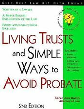 Living Trusts: And Simple Ways to Avoid Probate With Forms (Legal Survival Guide