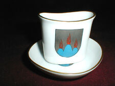 Upsala Ekeby Vastmanland Sweden Cigarette/Match Holder & Ashtray