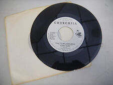CINDY HURT talk to me loneliness/dreams can come in handy CHURCHILL UNPLAYED  45