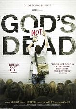 God's Not Dead DVD NEW (2014)  What Do You Believe ?