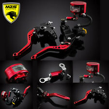 Brake Clutch Levers Master Cylinder Reservoir For Yamaha YZF R1 R6 Ducati 748