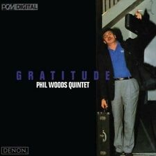 PHIL WOODS/PHIL WOODS QUINTET- Gratitude (CD, May-2008, Denon Records)