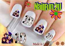 "RTG Set#582 CHARACTER ""1D 2 Faces One Direction"" WaterSlide Decals Nail Transfer"