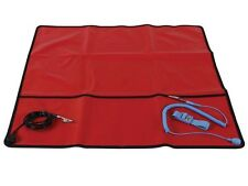 "Field Anti-Static Mat with Ground Cord - 24"" X 24"" ( AS9 )"