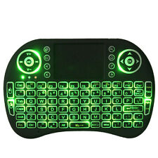 Backlit I8 Air Mouse Wireless Touchpad For KODI Android Mini PC TV BOX 2.4GHz