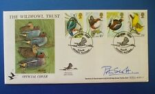 BENHAM 1980 BRITISH BIRDS FIRST DAY COVER SIGNED BY SIR PETER SCOTT