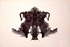 Framed Print - Psychology Inkblot Art (Picture Poster Mental Health Mind Yoga)