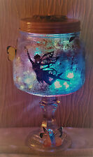 OOAK HAND CRAFTED 'CAPTURED' FAIRY JARS - PRETTY NIGHTLIGHTS FOR FAIRY LOVERS