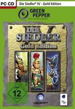 DIE SIEDLER 4 GOLD EDITION Deutsch Neuwertig
