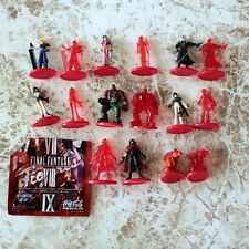 Complete x16 Final Fantasy VII Promo Coca Cola Figure Color Cloud Red XIII Tifa