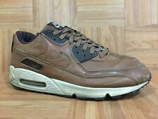 RARE�� Nike Air Max 90 Premium Leather Escape Brown Bison Baroque 11 313650-221