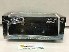 Fast & Furious * Dom's 1970 Dodge Charger R/T * Greenlight 1:43 Scale