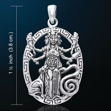 Hecate Hekate Triple Goddess Jewelry Pendant Pagan Metaphysical Jewelry #TPD3179