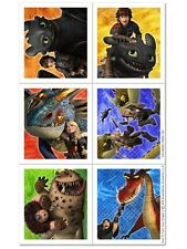 How to Train Your Dragon ~ (4) Sticker Sheets ~ Birthday Party Supplies Favors
