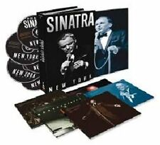 Frank Sinatra New York 4 CD cds Music Box Set + DVD + Booklet