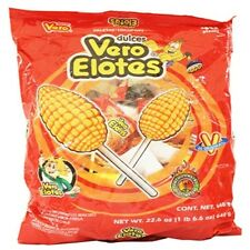 Vero Elote (corn) w/chilli Strawberry flavored 40-pcs Net wt 1-lb  6-oz