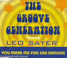 THE GROOVE GENERATION ft LEO SAYER - You Make Me Feel Like Dancing (CD Single)