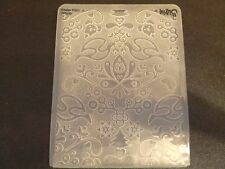 Sizzix Large 4.5x5.75in Embossing Folder CHRISTMAS ALPINE YULE fits Cuttlebug