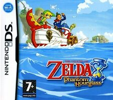 Nintendo Ds The Legend Of Zelda Phantom Hourglass Tarjeta De Juego