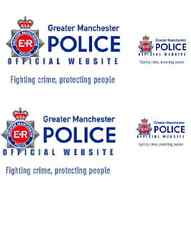 4 X Greater Manchester (long) POLICE WATERSLIDE DECAL IDEAL FOR CODE 3 MODELS co
