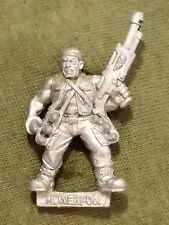 Warhammer 40k Imperial Guard Catachan Missile Crew Loader - Metal - Stripped