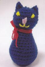 Crochet Pattern ~ LITTLE  KITTY CAT Stuffed Animal Kids Toy ~ Instructions