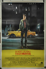 TAXI DRIVER 1976 ORIGINAL 40X60 MOVIE POSTER ROBERT De NIRO JODI FOSTER