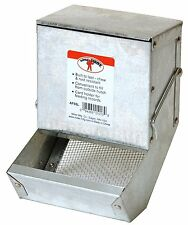 LITTLE GIANT Galvanized Rabbit Feeder Size: 5 in model number AF5SL NEW