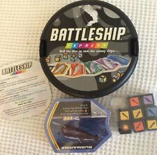 Battleship Express board game 2007 dice ships Packs Never Opened