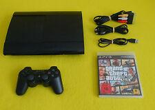 Sony PlayStation 3 Super Slim 500 GB Konsole + Original Controller + GTA V 5