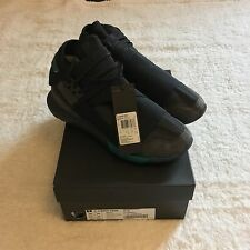 Y3 Qasa High U.K. Size 10 - Black / Turqoise