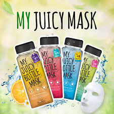 """SCINIC""""MY JUICY BOTTLE MASK"""" SHEETS 8pcs (Aqua+Firming+Vita+Soothing) from korea"""