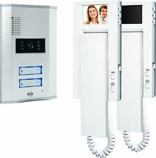 Byron VD62 White Telephone x 2 Video Door Intercom System Indoor Handset Unit