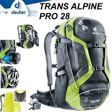 DEUTER TRANS ALPINE PRO 28 Zaino da Mountain Bike Cross Tour Viaggio con Cover