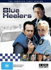 Blue Heelers : Season 1 (DVD, 2005, 6-Disc Set) region 4