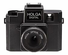 Holga Digital Black Color Toy Camera NEW FREE EMS SHIPPIING