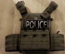 C2R C2Rmor Wolf Grey (Gray) Met Police Spec CTSFU CO19 Armour Plate Carrier