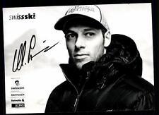 Marc Gini autografiada mapa original firmado skialpine + a 107404