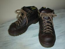 Dr. Martens Air Wair Youth BROWN LEATHER SAXON 8287 BOOTS AW004 SIZE Youth 5 EUC