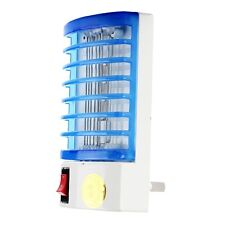 New Practical Electric Mosquito Fly Bug Insect Trap Killer with Blue LED Light