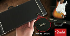 Official Licensed FENDER™ Miniature Black Guitar CASE with Die-cast Logo