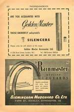 1953 Birmingham Mudguard Company Hockley Golden Master Accessories Ad