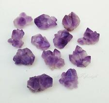 50g Natural Amethyst Skeletal Quartz Point Crystal Cluster Healing Specimen FFS
