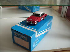 Hand Built Model Provence Moulage MG B Hard Top Monte Carlo 1964 in Red on 1:43