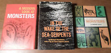 3 CLASSIC, VINTAGE BOOKS ON CRYPTOZOOLOGY