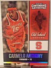 2016 PANINI CONTENDERS DRAFT PICKS OLD SCHOOL INSERT CARMELO ANTHONY     WM13