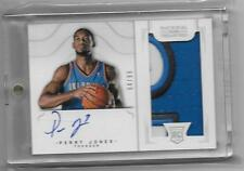 2012-13 Perry Jones National Treasures #178 AUTO PATCH RC #D 4/99 (L35)