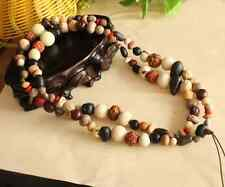 18 Bodhi seeds Tibetan Buddhism 108 prayer Beads Mala Necklace