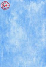 BLUE WHITE PATTERN TEXTURE  BACKDROP BACKGROUND VINYL PHOTO PROP 5X7FT 150x220CM
