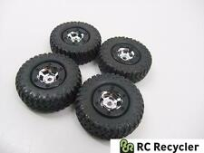 Losi Micro 4x4 Trail Trekker Chrome Wheels Scaler Tires